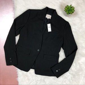 Ann Taylor LOFT Black Blazer Jacket NWT